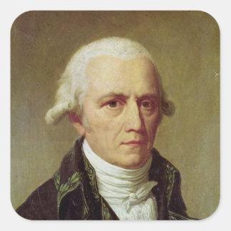 Portrait of Jean-Baptiste de Monet Square Sticker