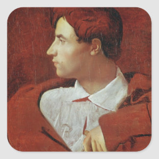Portrait of Jean-Baptiste Desdeban  c.1810 Square Sticker