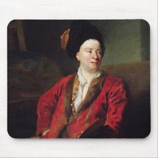 Portrait of Jean Baptiste Forest  1704 Mouse Pad