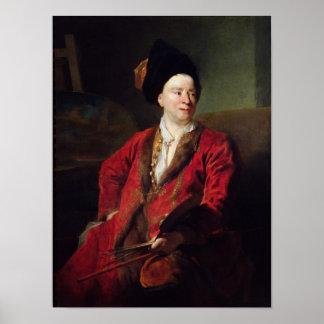 Portrait of Jean Baptiste Forest  1704 Poster