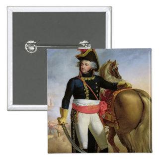 Portrait of Jean Baptiste Kleber 2 Inch Square Button