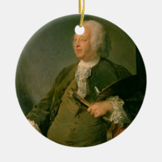 Portrait of Jean-Baptiste Oudry (1686-1755) c.1753 Ceramic Ornament