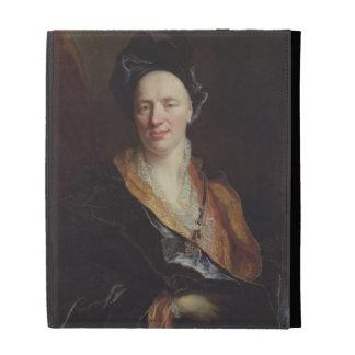 Portrait of Jean Baptiste Rousseau (1671-1741) 171 iPad Folio Cases