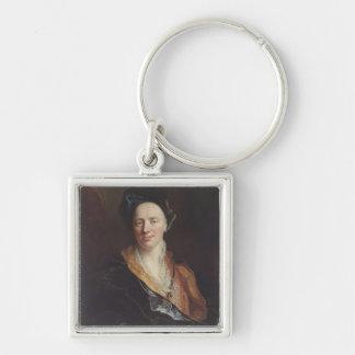 Portrait of Jean Baptiste Rousseau (1671-1741) 171 Keychain