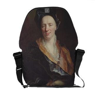 Portrait of Jean Baptiste Rousseau (1671-1741) 171 Messenger Bag