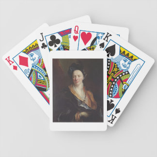 Portrait of Jean Baptiste Rousseau (1671-1741) 171 Bicycle Playing Cards