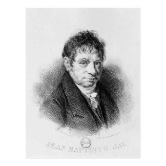Portrait of Jean Baptiste Say Postcard