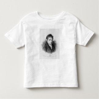 Portrait of Jean Baptiste Say Toddler T-shirt