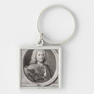 Portrait of Jean Bernoulli  engraved by Keychain
