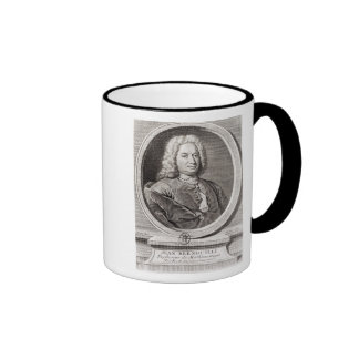 Portrait of Jean Bernoulli  engraved by Coffee Mug