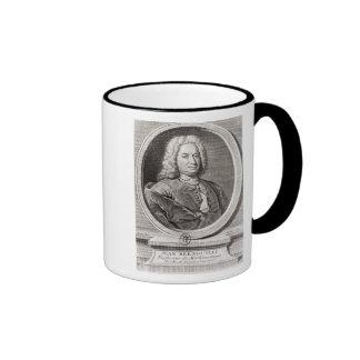 Portrait of Jean Bernoulli  engraved by Ringer Coffee Mug