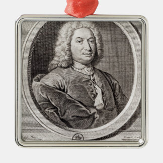 Portrait of Jean Bernoulli  engraved by Christmas Tree Ornaments