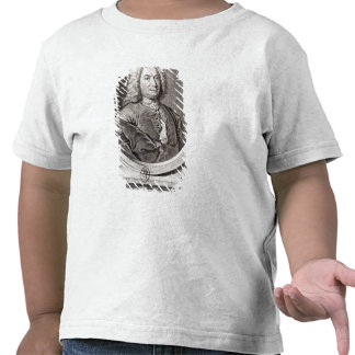 Portrait of Jean Bernoulli  engraved by T-shirts
