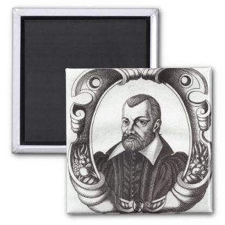 Portrait of Jean Bodin Magnet