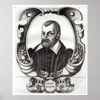 Portrait of Jean Bodin Poster