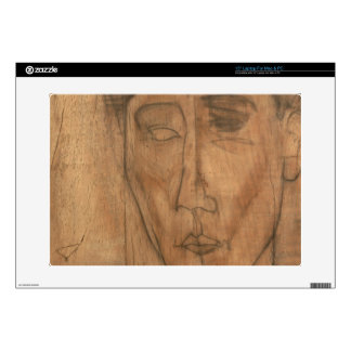 "Portrait of Jean Cocteau (1889-1963) 1917 (pencil 15"" Laptop Decals"
