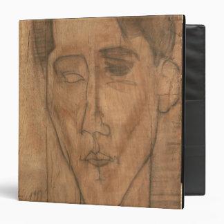 Portrait of Jean Cocteau (1889-1963) 1917 (pencil 3 Ring Binder
