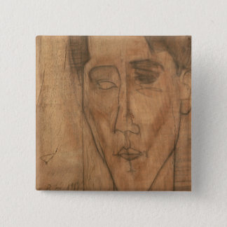 Portrait of Jean Cocteau (1889-1963) 1917 (pencil Button