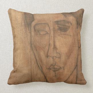 Portrait of Jean Cocteau (1889-1963) 1917 (pencil Pillow