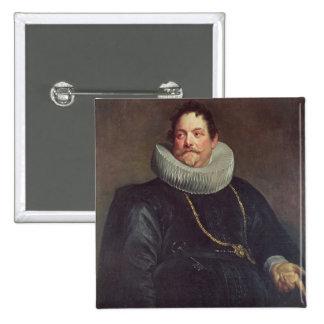 Portrait of Jean de Montfort Button