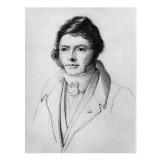 Portrait of Jean-Francois Champollion , 1830 Postcard