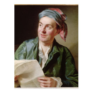 Portrait of Jean-Francois Marmontel  1767 Postcard