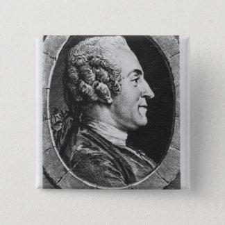 Portrait of Jean Francois Marmontel Button