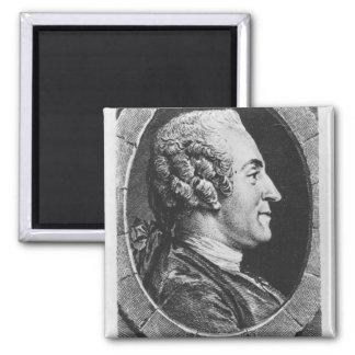 Portrait of Jean Francois Marmontel Fridge Magnets