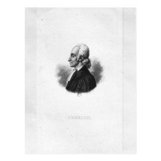 Portrait of Jean Frederic Oberlin Postcard