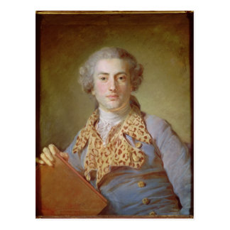Portrait of Jean-Georges Noverre , 1764 Postcard
