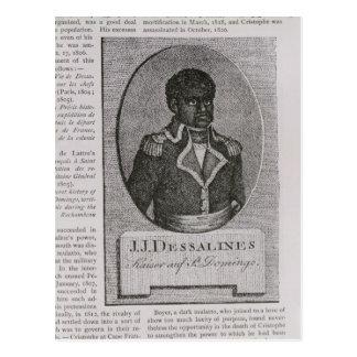 Portrait of Jean-Jacques Dessalines Postcard