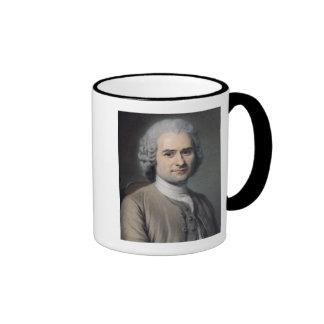 Portrait of Jean Jacques Rousseau Coffee Mugs