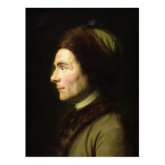 Portrait of Jean-Jacques Rousseau Postcard