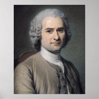 Portrait of Jean Jacques Rousseau Posters