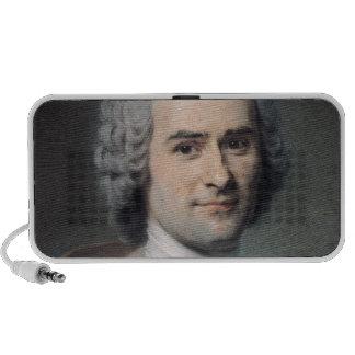 Portrait of Jean Jacques Rousseau Speakers