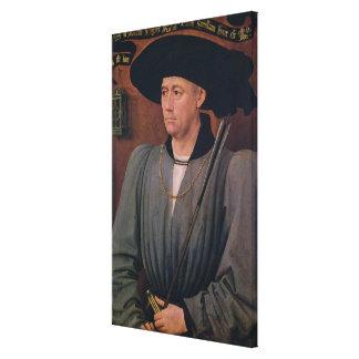 Portrait of Jean Lefevre de Saint-Remy Canvas Print