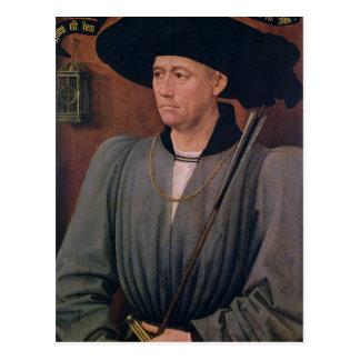 Portrait of Jean Lefevre de Saint-Remy Postcard