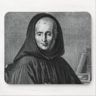 Portrait of Jean Mabillon  engraved by Alexis Mouse Pad