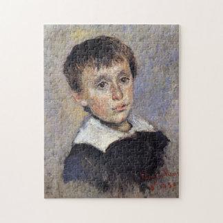 Portrait of Jean Monet Monet Fine Art Puzzle