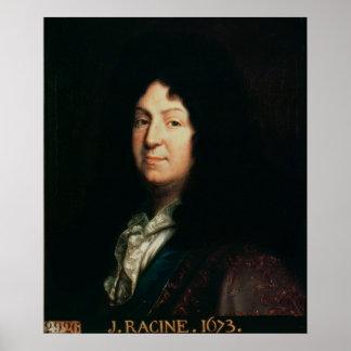 Portrait of Jean Racine  copy of an original Poster
