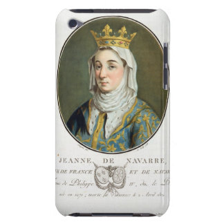 Portrait of Jeanne de Navarre (1271-1304), 1788 (c Barely There iPod Cover