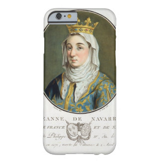 Portrait of Jeanne de Navarre (1271-1304), 1788 (c Barely There iPhone 6 Case