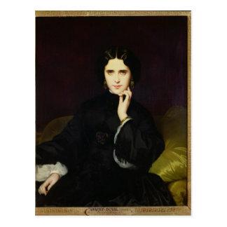 Portrait of Jeanne de Tourbay  1862 Postcard