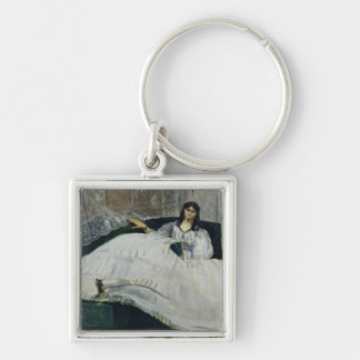 Portrait of Jeanne Duval, 1862 Keychains