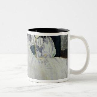 Portrait of Jeanne Duval, 1862 Two-Tone Coffee Mug