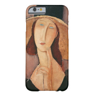 Portrait of Jeanne Hebuterne in a large hat Barely There iPhone 6 Case