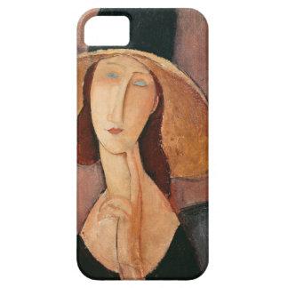 Portrait of Jeanne Hebuterne in a large hat iPhone SE/5/5s Case