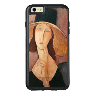 Portrait of Jeanne Hebuterne in a large hat OtterBox iPhone 6/6s Plus Case