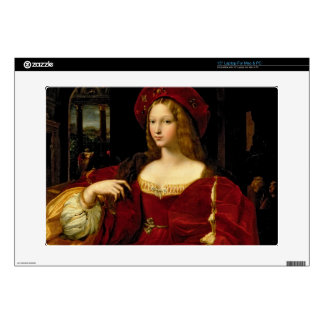 Portrait of Jeanne of Aragon (c.1500-77) wife of A Laptop Decals