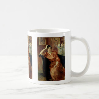 Portrait of Jeanne Pontillon Coffee Mug